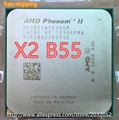 AMD Phenom II X2 B55 CPU Processor Dual-Core (3.0Ghz/ 6M /80W / 2000GHz) Socket am3 am2 (working 100% Free Shipping)