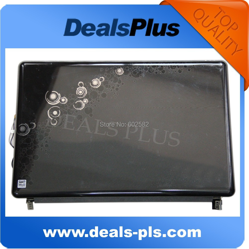 NEW FOR HP Pavilion DV6-2000 OEM 15.6 Plastic LCD Screen Back Top Cover +LCD Bezel + Lid Glass Free SHIPPING