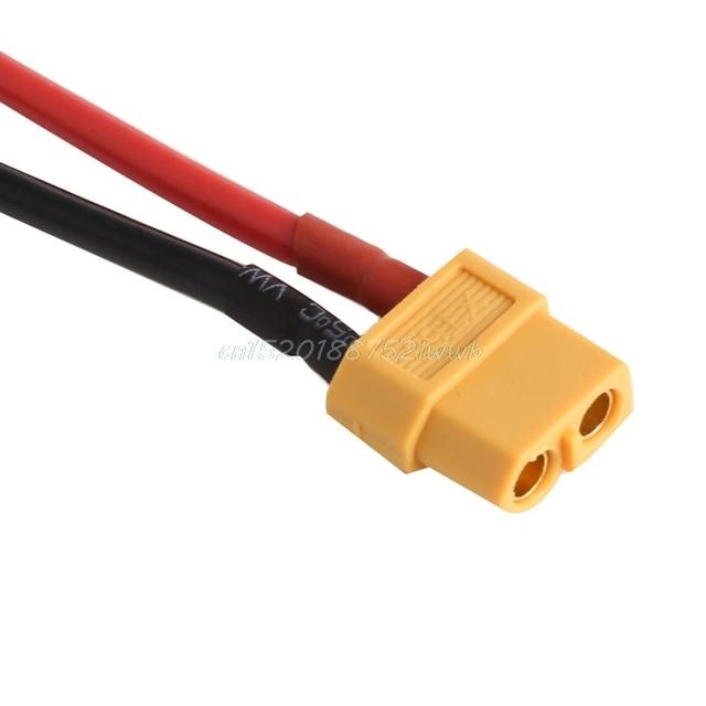1 paire de XT60 batterie mâle femelle connecteur prise avec silicium 14 AWG fil # T026 # 4