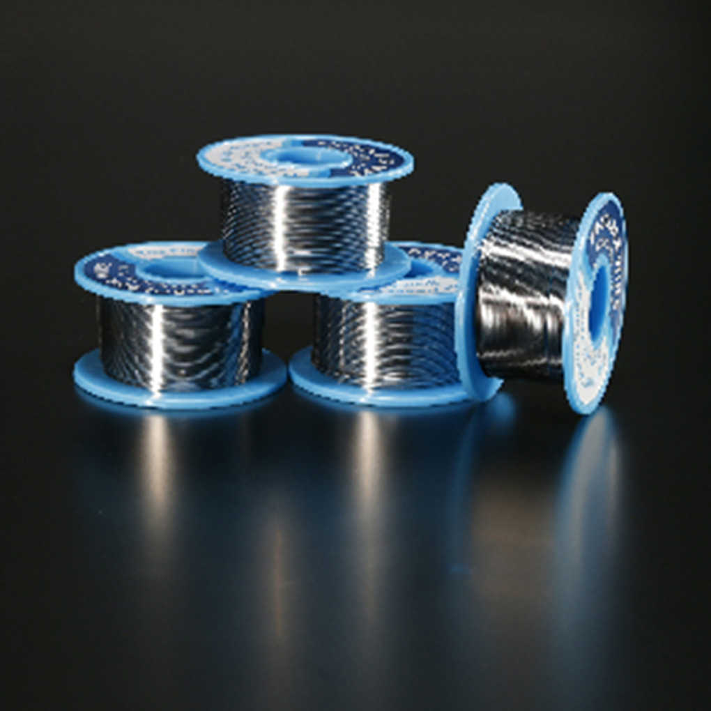 0.5MM/0.6MM/0.8MM/1.0MM 50g Soldering Tin Wire Low Melting Temperature Welding Wire Non-splash Tin line