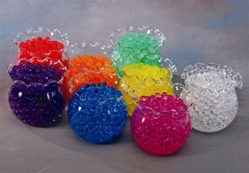 Water Beads Pearls Jelly Marbles Balls Spheres Decor Magic