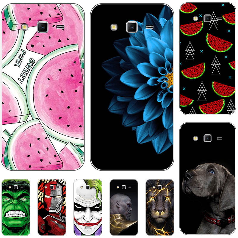 Plastic Phone Cover Case For Samsung Galaxy Grand 2 G7102 G7105 G7106 G7108 G7109 G7100 G71S SM-G7102 Cases For Samsung G7106 image