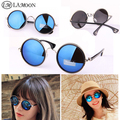 New Round sunglasses fashion vintage women sun glasses UV protect driving fishing sport oculos men sunglasses S0033