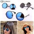 Nova Rodada óculos de sol da moda do vintage óculos de sol mulheres UV proteger condução pesca esportiva oculos homens óculos de sol S0033