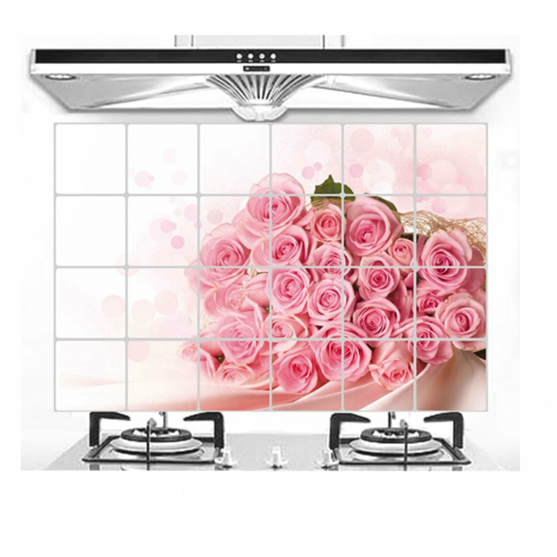 wall sticker cuisine poster 3d wall stickers kitchen. Black Bedroom Furniture Sets. Home Design Ideas