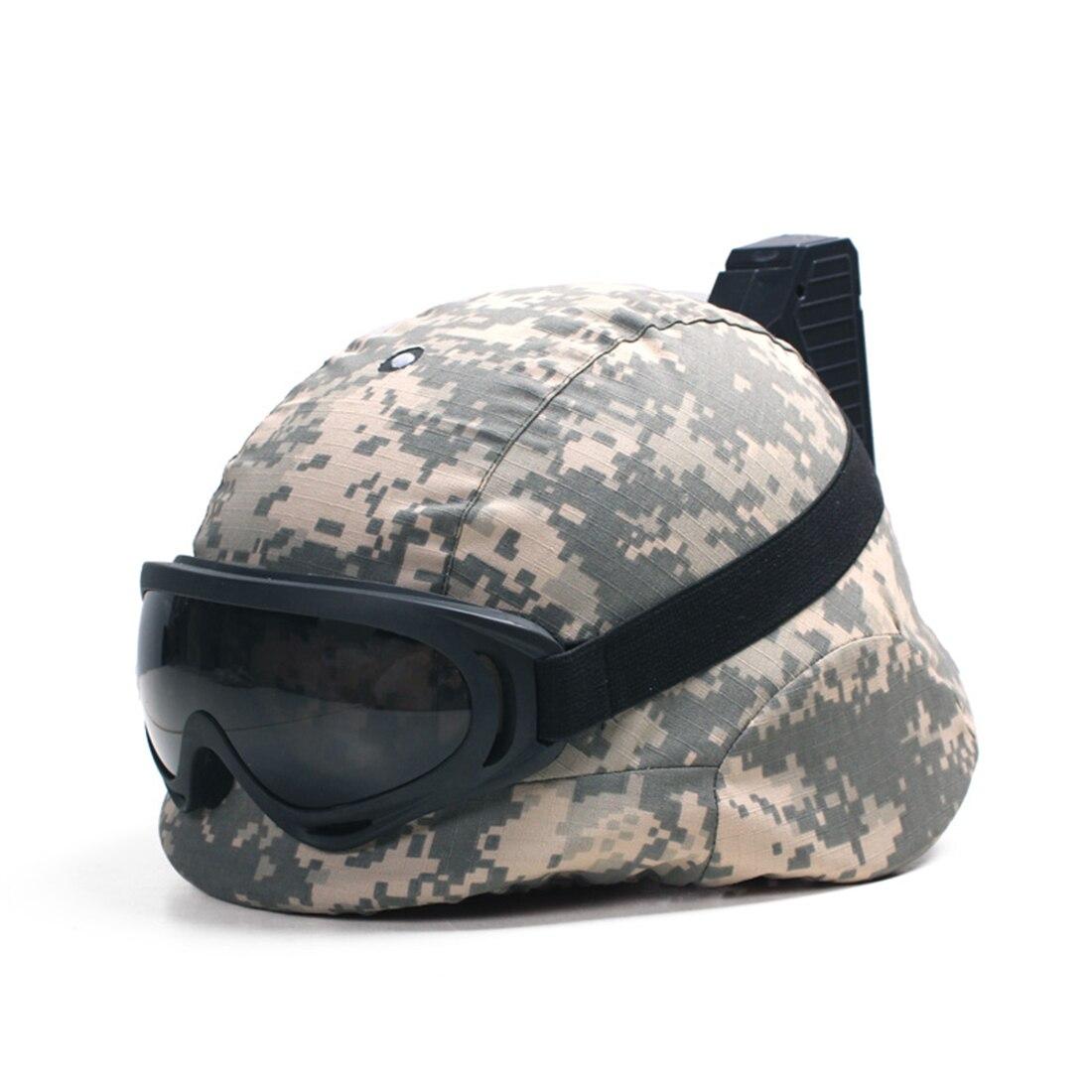 Surwish femmes unique lampe casque déterminer Induction casque avec tissu ombre et lunettes pour CS Gel d'eau perles Blaster bataille