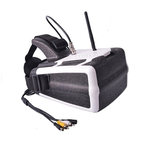 Headplay original 5.8 ghz 1280*800 40ch fpvgoggles gafas de vídeo auricular receptor para dji phantom 3/4 inspire 1 pro