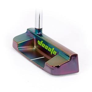 Image 5 - PVD גימור פחמן פלדת CNC הסתובב גולף להתבטל שחור לויה גולף מועדוני freeshipping