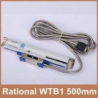 Free Shipping Rational encoder linear WTB1 0.001mm 500mm TTL 5V 0.001mm digital linear encoder for CNC lathe milling