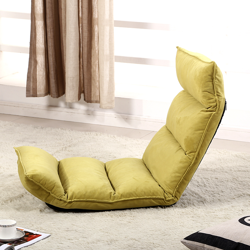 Comfortable Chaise Lounge Chairs Floor Seating Living Room Furniture Sofa Chair 14 Position Adjustable Reclining Lounge Daybed relax sofa chair living room furniture floor adjustable sofa chair reclining chaise lounge modern fashion leisure recliner chair