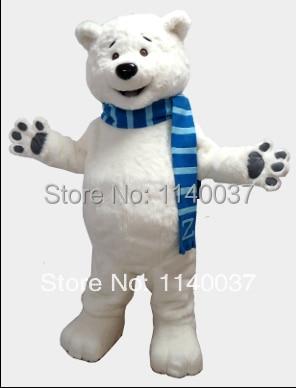 mascota Polar Bear mascota costum personalizat costum fantezie anime - Costume carnaval