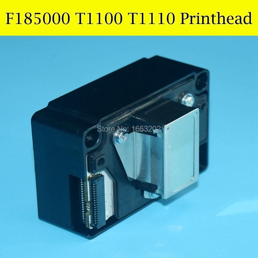 1 PC Original Print Head T1100 T1110 TX510FN C10 C110 Printhead For EPSON F185000 Nozzle genuine original printhead print head for px1004 px v780 d120 px 101 bx310 l1300 t1110 c10 t1100 t30 inkjet printer print head