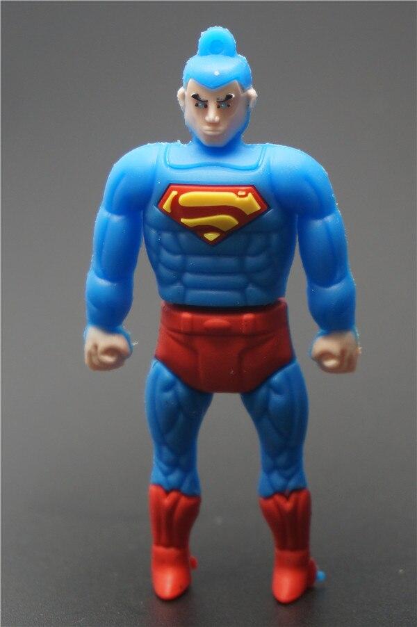 っAzul kung fu súper hombre de dibujos animados hombre USB 2,0 ...