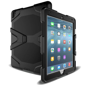Image 2 - Coque pour tablette iPad pro, protection étanche contre les chocs, la poussière, le sable, pour larmée militaire, étui de béquille extrême, pour iPad pro 12.9, 2017, 2015
