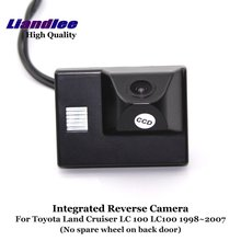 Liandlee Car Backup Parking Camera For Toyota Land Cruiser LC 100 LC100 1998~2007 Rear View Rearview Reverse Camera / Integrated new high quality rear view backup camera parking assist camera for toyota 86790 42030 8679042030
