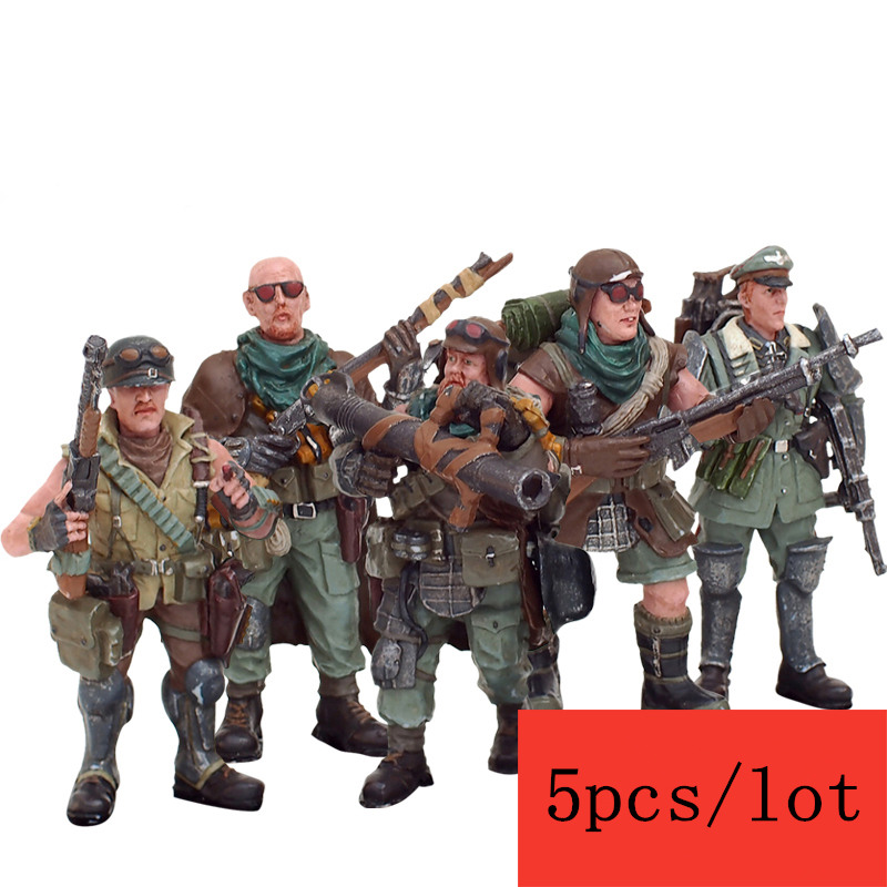 JOY TOY 1:27 action figures PVC desert bandits Army high about 5-6 cm model Toy Free shipping SA-005 free shipping 6 styles cute kids cheese cat action figures mini cat pvc toys figures model toy best decoration for children