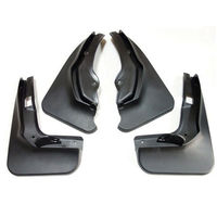 BBQ FUKA Mudguard Splash Guard MudFlaps Mud Flap Fit For Mercedes Benz C Class W204 2011
