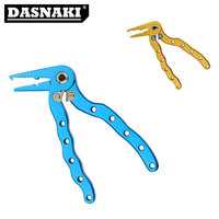 12CM Aluminum Fishing Pliers Fishing Tools Split Ring Line Cutters Fishing Hooks Tungsten hook removes Fishing Tackle