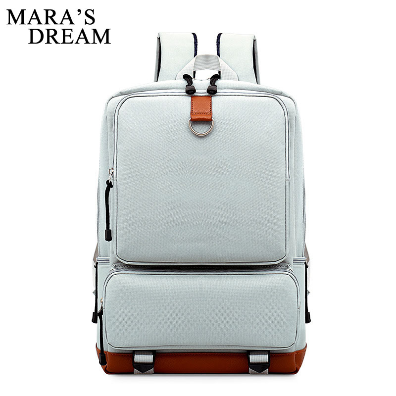 Mara's Dream Canvas Men Women Backpack College School Bags For Teenagers Boys Girls Laptop Notebook Backpacks Mochila Rucksacks augur canvas men women backpack college high middle school bags for teenager boy girls laptop travel backpacks mochila rucksacks