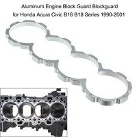 Aluminum Engine Block Guard Blockguard for Honda Acura Civic B16 B18 Series 1990 2001