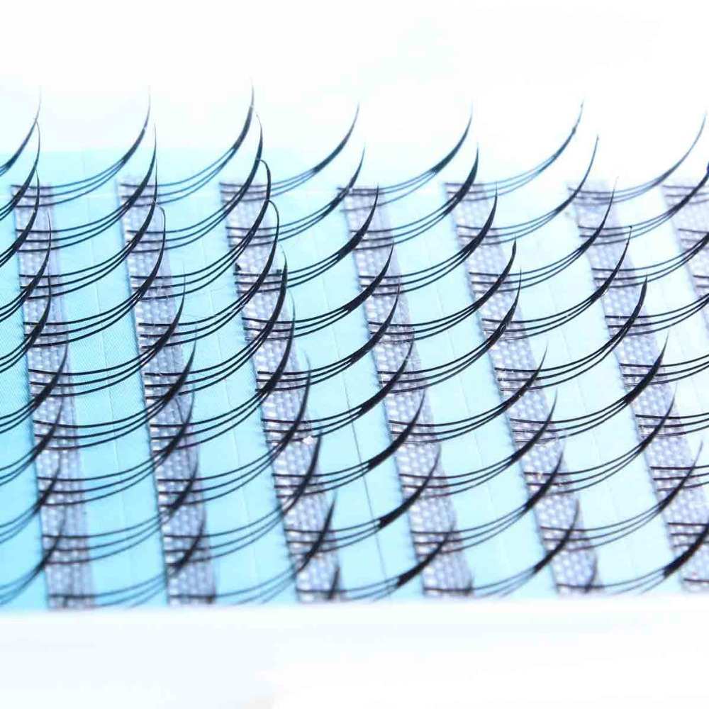 Free Shipping 2014 New South Korean Imports Of A or M-Type Three Intersecting Pointed Tail planting Fake Eyelashes