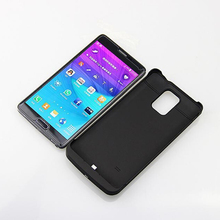 For Samsung Galaxy Note 4 N9100 4800mah Battery Charger Case 4800 mah New Charging Emergency Power Bank Case