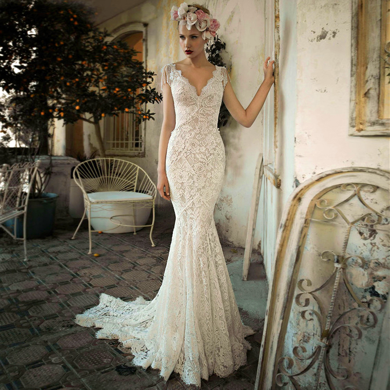 Wedding Dress Alterations Chicago Suburbs : Vintage hippie style wedding dress edin