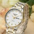 Watch Men 2016 GUANQIN Luxury Brand Quartz-Watch Business Waterproof Stainless Steel Watchband Relogio Masculino Montre Homme