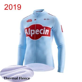 Мужская велосипедная рубашка из теплого флиса с длинным рукавом, велосипедная рубашка для улицы, горного велосипеда K022209, зима 2019