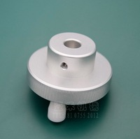 1pcs Hobbing Outer Diameter 60mm Inner Hole 10mm Aluminum Alloy Handle Handwheel Knob