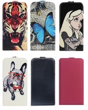 Yooyour Fashion shell housing Up and Down PU Leather High Quality Case COVER For Micromax Q351