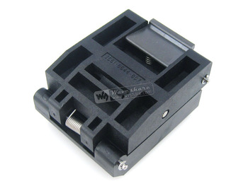 IC51-0644-807-6 Yamaichi IC Burn-in Test Socket  Adapter 0.5mm Pitch QFP64 TQFP64 FQFP64 PQFP64 Package  IC Body Size 10.0 *10.0