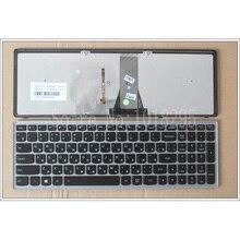 Новый Для Lenovo IdeaPad Flex 15 Flex15 G500S G505S S500 S510 S510P Z510 RU Русский Клавиатура серебристо-серый frame с подсветкой
