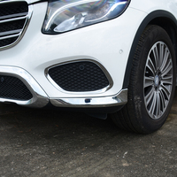 ABS Chrome for Mercedes Benz GLC 2016 18 car Front guard Strip cover trim auto accessories styling 2pcs