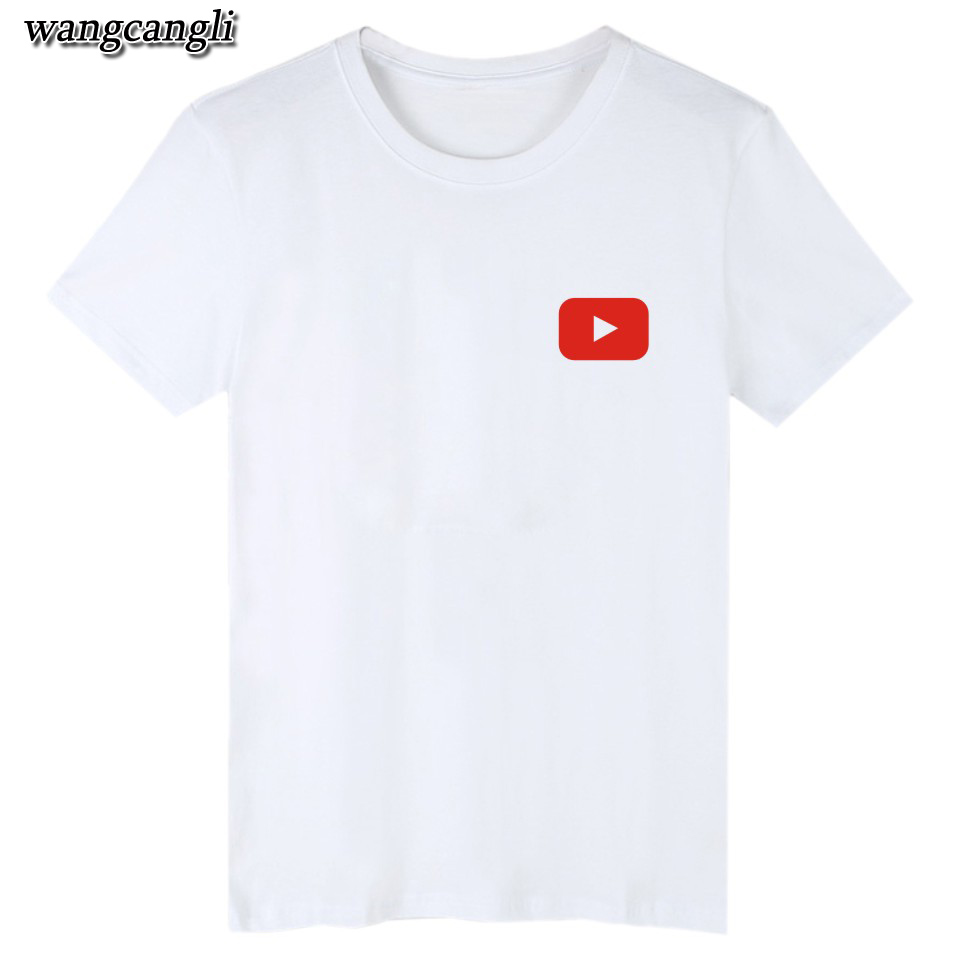 17 best friends t shirt harajuku Youtube Logo Printed tshirts cotton women with 4XL You Tube T-shirts for women Tee Shirt 7