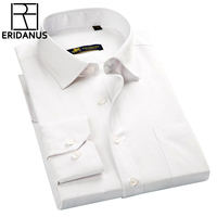 ERIDANUS Classic Striped Men Dress Shirts Long Sleeve Business Formal Shirts Casual Shirts Camisa Masculina Camisas
