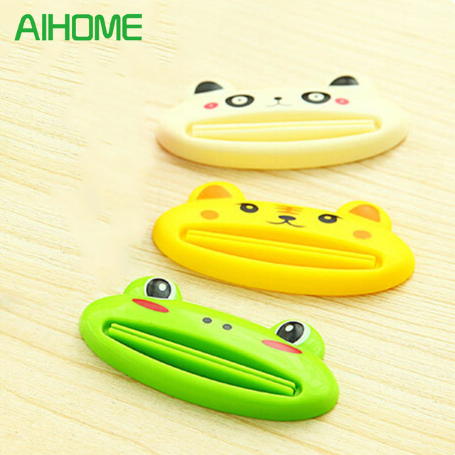 2016 Cartoon Dentifricio Cream Squeezer Animale Sveglio Facile Squeeze Incolla B