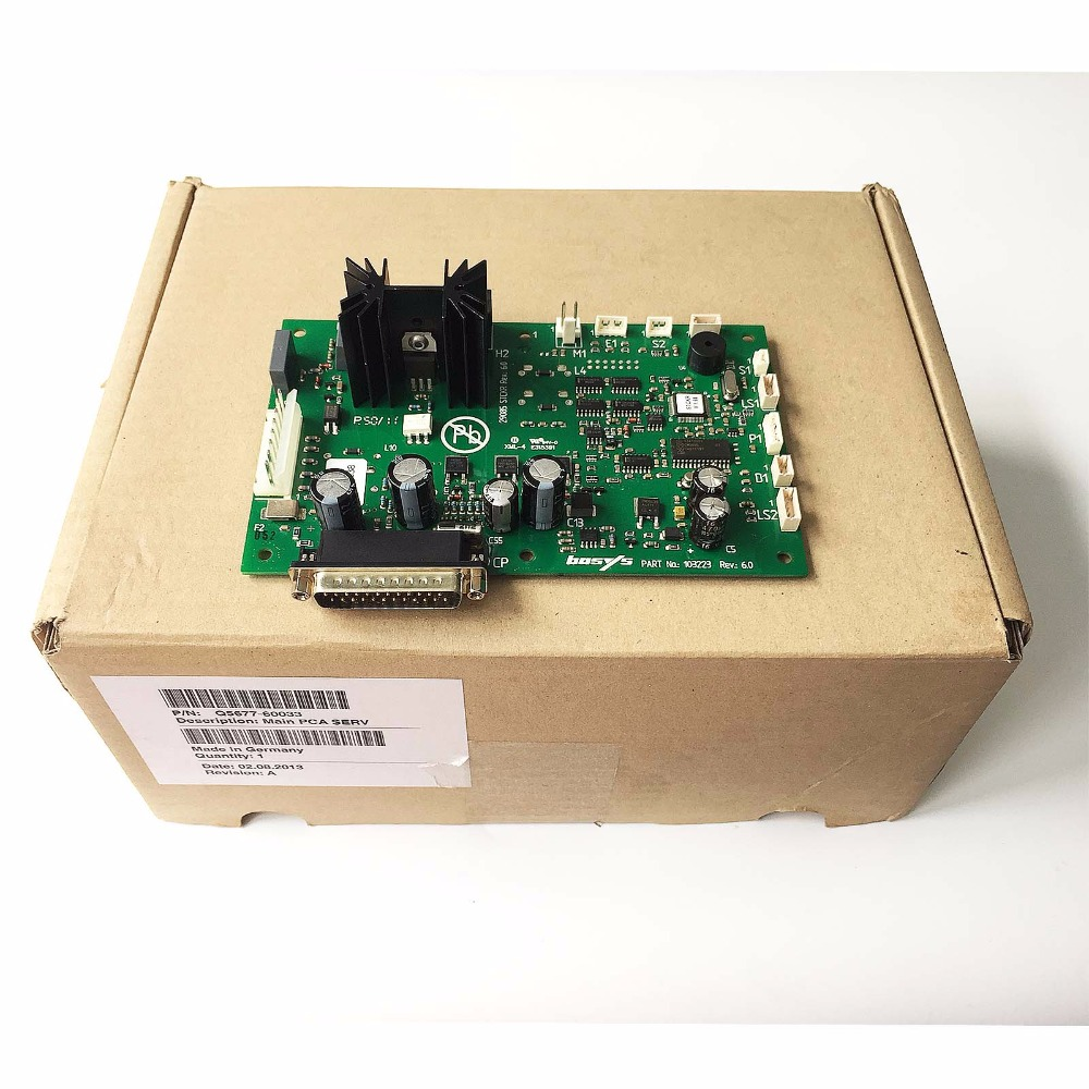 Q5677-60033 Main PC board for HP DesignJet 4500 4500PS plotter parts new c4704 40059 pinch arm media lever for hp designjet 2000cp 2500cp 2800cp 3000cp 3500cp 3800cp plotter parts