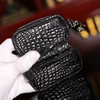 подушки с коровьим принтом | Модный из крокодиловый кожи держатель для ключей Подушка Форма брелок на молнии автомобильные ключи Чехол кошелек сумки