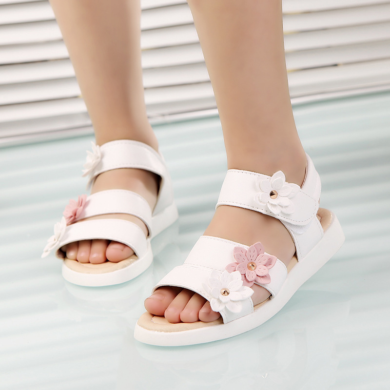 Cozulma Summer Style Children Sandals Girls Princess