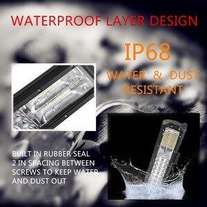 Image 2 - 3 рядсветодиодный светодиодсветильник световая панель для внедорожника, лампа рабосветодиодный освещения для грузовиков, квадроциклов, УАЗ, полноприводных внедорожников, мотоциклов, 9 дюймов, 20 дюймов, 32 дюйма