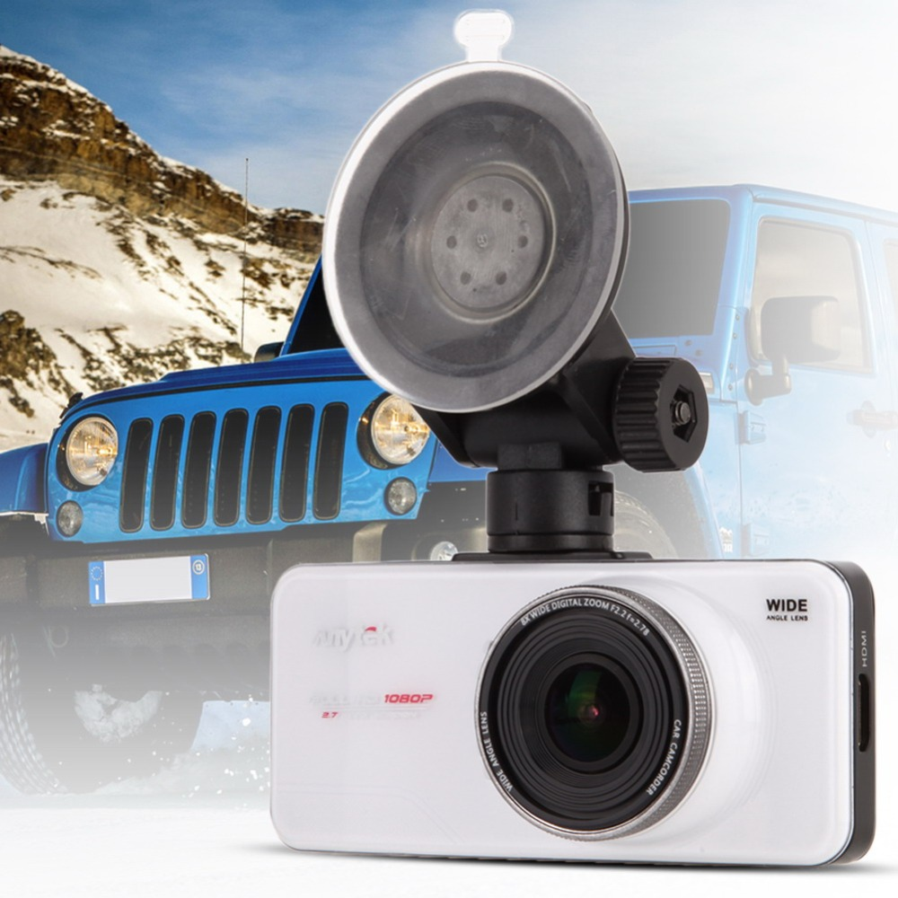 Original Anytek AT66A Full HD Car DVR Novatek 96650 170 Degree Digital Video Recorder Super Night