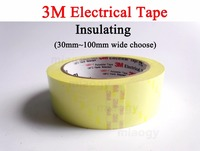 3M Electrical Insulating Polyester Film Tape Flame Resist 30mm 100mm Width Choose 66 Meters Roll