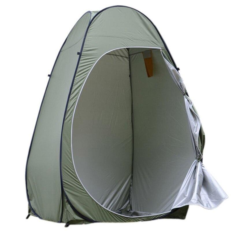 Portable intimité abri unique tente ultralégère Pop Up toilette ultraléger chine en plein air vestiaire étanche Camping douche