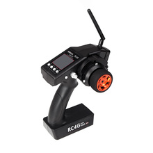 Hot Sell RadioLink RC4G 2.4G 4CH Radio Control System Transmitter w/ R4EH-G Receiver for RC Car Boat
