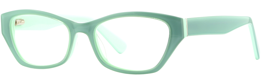 8f0a79fbea Cateye Women S Acetate Plastic Frame Green Prescription Eyeglasses ...