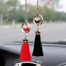 Подвеска для автомобиля, кукла Lucky Cat, фигурка с кисточками, украшение для автомобиля, украшение для салона автомобиля, зеркало заднего вида, Декор, висячий орнамент, подарок