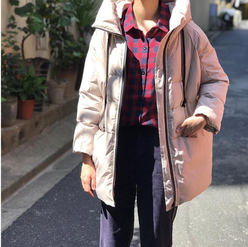Women Warm Snow Chic   Parkas   Coats E1023-007