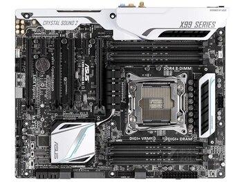 Carte mère originale pour ASUS X99-PRO/USB3.1 DDR4 LGA 2011-V3 USB2.0 USB3.0 64 GB I7 CPU X99 carte mère de bureau livraison gratuite