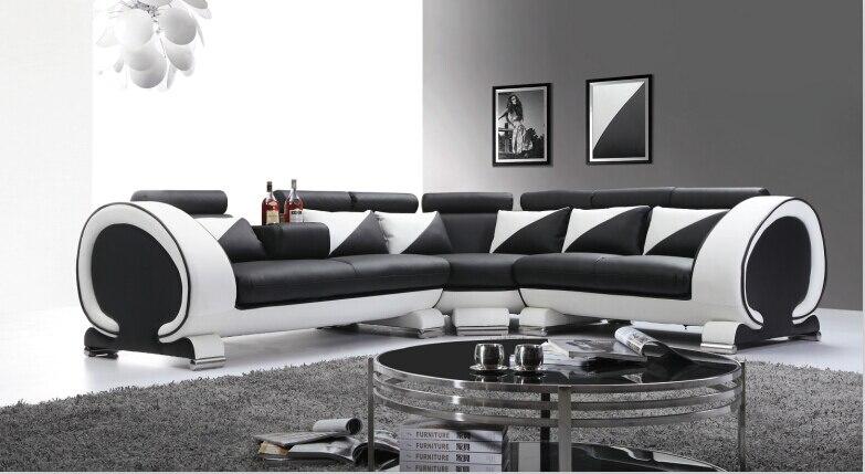 moderno e minimalista divano promozione-fai spesa di articoli in ... - Pelle Dangolo Divano Minimalista